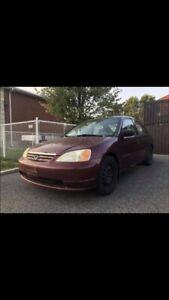 Honda civic à vendre