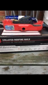 Almost full box of roofing coils