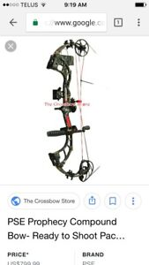 TRADE; PSE prophecy compound bow