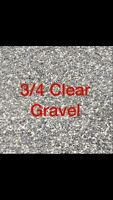 3/4 Clear Gravel $20 Per Ton! Bobcaygeon