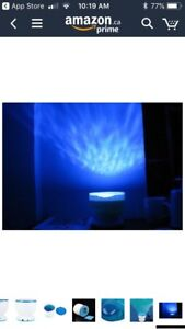 New in Box Sensory LED Light/Waves/Music Projector