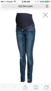 ISO h&m mama size 6 jeans