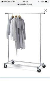 Commercial Style Clothing Rack (2 available)