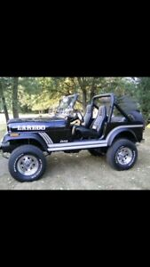 Wanted old Jeeps, Jeep CJ YJ Scramler Pickups