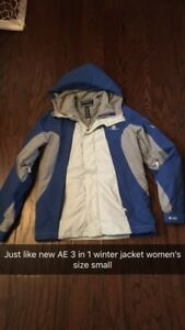 American Eagle ladies sz small winter jacket