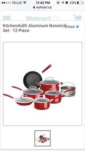 Brand new kitchen aid pot set