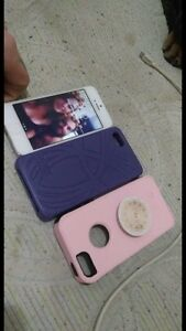 iPhone 5 with 2 cases- otter box and tna