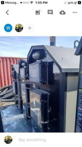 Heatmaster used outdoor wood furnace