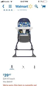 Looking to buy a Costco high chair for my son