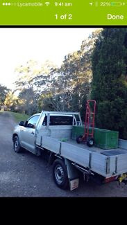 Ute with driver  Boronia Heights Logan Area Preview
