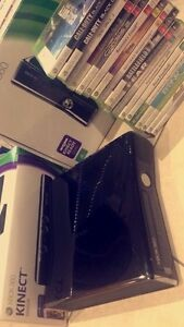 Xbox 360 slim 250GB with Kinect and 27 games Flinders Park Charles Sturt Area Preview