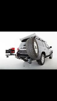 4x4 PREMIUM DUAL REAR WHEEL CARRIERS $1499 was $2500 SALE NOW ON