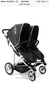 New StrollAir My Duo Double Twin Stroller