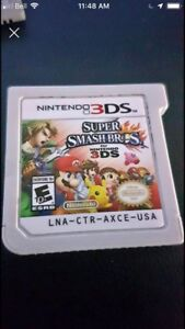 3DS super smash bros and animal crossing