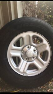 Jeep Wrangler wheels and tires