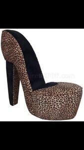 Leopard Shoe Chair