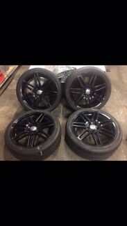 Audi A4 s3 wheels 18in Mascot Rockdale Area Preview