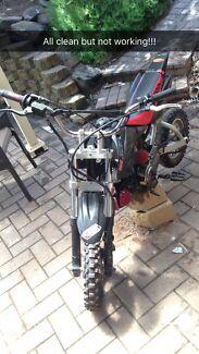 110cc Pitbike for parts! Aberfoyle Park Morphett Vale Area Preview