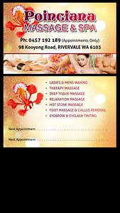 Poinciana massage & spa Perth Perth City Area Preview
