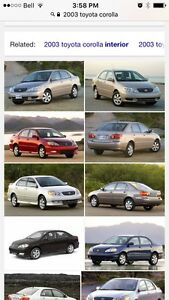 Wanted : Toyota Corolla / matrix / vibe parts