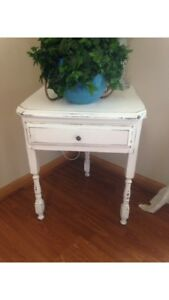 Vintage Three legged side table.