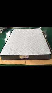 Brand new medium mattress and leather bed base double320queen350 St Kilda Port Phillip Preview