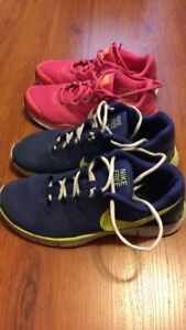 Nike Training shoes size 7 & 9