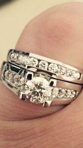 Custom engagement ring / wedding band