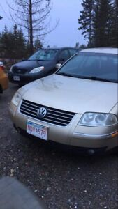 Vw passat for trade no cars