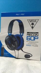 Ear Force Recon 60P PS4 & PS3 Headset/ Headphones