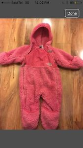 3-6 month The North Face fleece