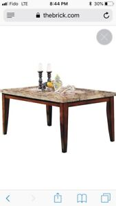 Dinning Table Marble Top for sale $100