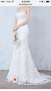 Moving sale-Gorgeous lace wedding dress