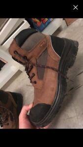 New Kodiak work steel-toe boots (worn once)