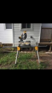Dewalt Mitre Saw and Stand
