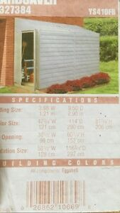 BRAND NEW 4x10 LEAN-TO SHED