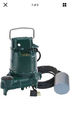 Zoeller Bn53 - 13 Hp Cast Iron Submersible Sump Pump W Tether Float Switch
