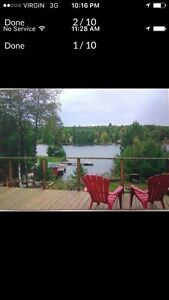 Vacation time! Lake Kipawa Quebec