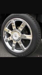 Cadillac Escalade rims  Cambridge Kitchener Area image 1