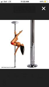 Removable dancing or exercise pole $100 - used