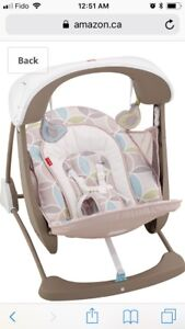 Fisher-Price Deluxe Take Along Swing and Seat - $60 OBO