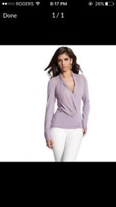Marciano wrap blouse / sweater