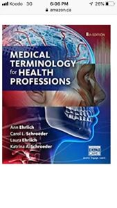 Wanted: Medical Terminology Textbook