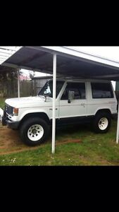 1987 Mitsubishi Pajero Coupe SWB SAS Project Berriedale Glenorchy Area Preview