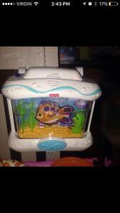 Fisher price soothing fish aquarium