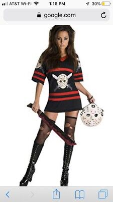 Miss Voohrees Costume Jason Friday the 13th Costume HALLOWEEN SIZE - Jason Halloween Costume Women