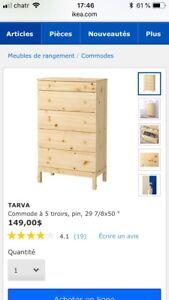Commode Ikea Tarva