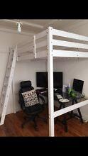 LOFT BED (WHITE) Richmond Hawkesbury Area Preview
