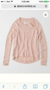 Brand New Abercrombie & Fitch Sweater