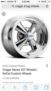 Looking for set of 4 bolt rims for 1972 comet
